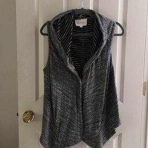 Vince Camuto Asymmetrical Vest with pockets.